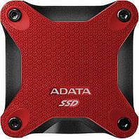 Внешний SSD накопитель ADATA External SD600 256GB red