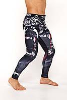 Лосины Venum Grizzly (Компрессионные штаны  Леггинсы Венум Гризли), фото 1