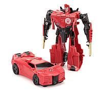 Игрушка Сайдвайп с трансформацией 11.5 см Роботы под прикрытием - 221778