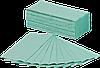 Бумажные полотенца V - сложение, зелёные