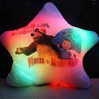 """Подушка ночник """"Маша и Медведь"""""""