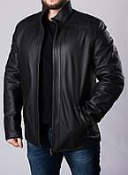 Зимняя кожаная куртка мужская NMLT2BB