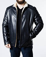 Зимняя приталенная кожаная куртка FILL2IV