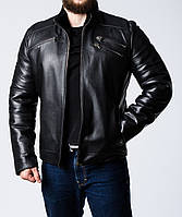 Зимняя кожаная куртка на меху JARS2BB
