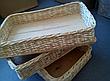 Лотки  из лозы  60x40х10 для хлеба, фруктов, фото 2