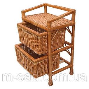 Комод плетений на 2 ящика, фото 2
