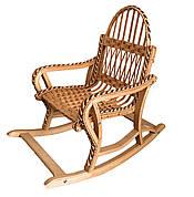Крісла качалки плетені для дітей складное (розбірні)