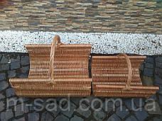 Корзины для дров (набор из 2 шт). Дровницы для камина, фото 2