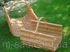 Корзины для дров (набор из 2 шт). Дровницы для камина, фото 3