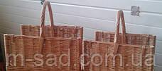 Подставка для дров у камина . Дровницы из лозы плетеные, фото 3