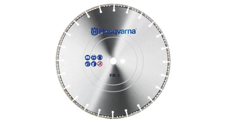 Диск алмазный 09  '/  230 22.2 FR-3 спасательный   Husqvarna   5748538-01, фото 2