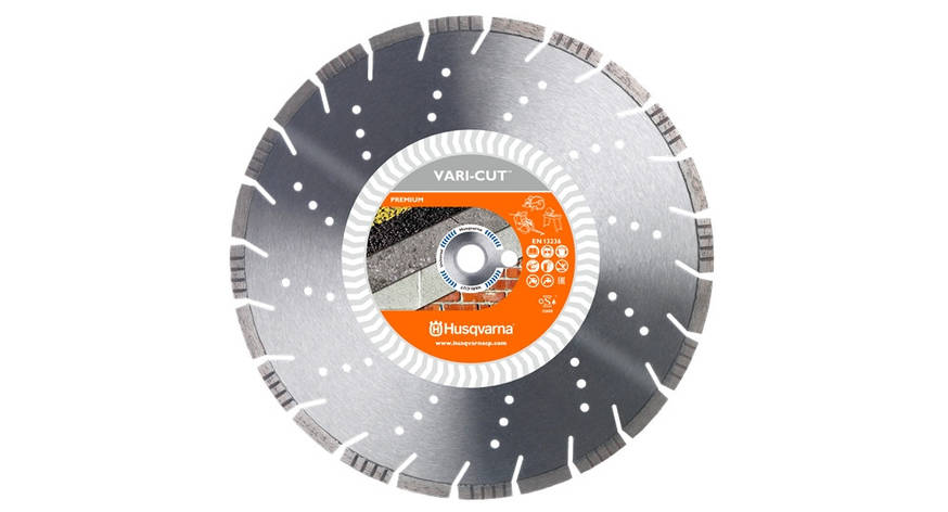 Диск алмазный 16  '/  400 1' / 20 VARI-CUT | Husqvarna | 5865955-03, фото 2