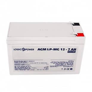 Аккумуляторная батарея LogicPower 12V 7AH (LPM-MG 12 - 7 AH) AGM мультигель