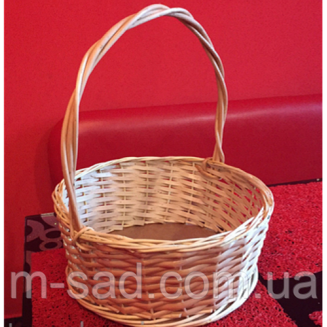 Корзинка для подарков круглая, фото 2