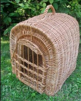 Переноска для животных с плетеной дверкой, фото 2