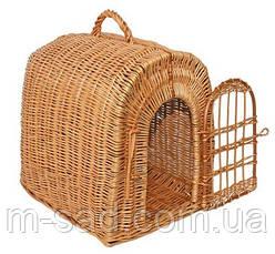 Переноска для животных с плетеной дверкой, фото 3