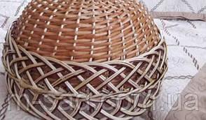 Абажур плетеный из лозы. Люстра плетеная , фото 2