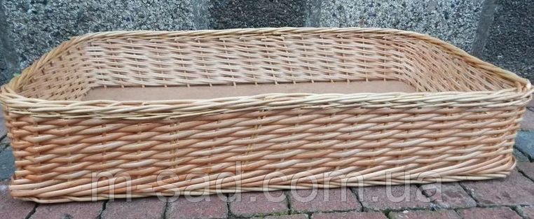 Лотки плетеные корзины 30x40х10