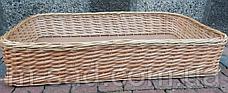 Лотки плетеные 30x40х10, фото 2
