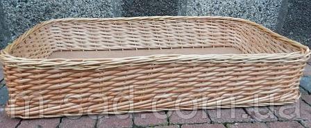 Лотки плетеные корзины 30x40х10, фото 2
