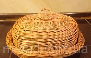Хлібниця плетені з кришкою, фото 2