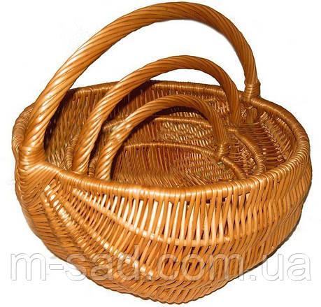 Набор корзин из 3-х шт - Дачник, фото 2