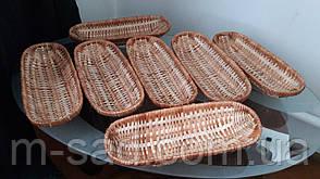 Хлебница плетеная овальные из лозы, фото 2