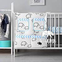 Органайзер для детской кроватки Warmo™ ОВЕЧКИ