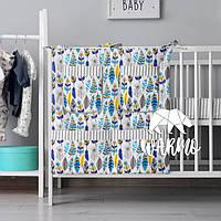 Органайзер для детской кроватки Warmo™ ПЕРЬЯ