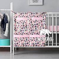 Органайзер для детской кроватки Warmo™ ГЕОМЕТРИЯ
