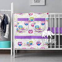 Органайзер для детской кроватки Warmo™ СОВЫ