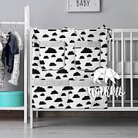 Органайзер для детской кроватки Warmo™ ТУЧКИ