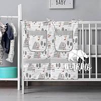 Органайзер для детской кроватки Warmo™ БЕМБИ