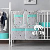 Органайзер для детской кроватки Warmo™ НЕБО