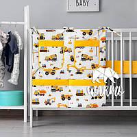 Органайзер для детской кроватки Warmo™ СТРОЙКА