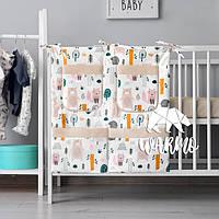 Органайзер для детской кроватки Warmo™ ЛЕС ЧУДЕС