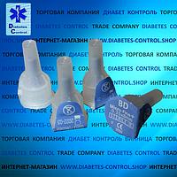 Иглы 8 мм для инсулиновых шприц-ручек Microfine / Микрофайн 31G (0,25 мм) универсальные 10 шт.