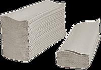 Бумажные полотенца V - сложение, серые
