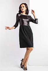 Вечернее платье SECRET с блестящим топом и открытой спинкой
