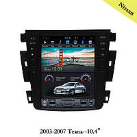 Штатная магнитола Tesla Style Nissan Teana 2003-2007