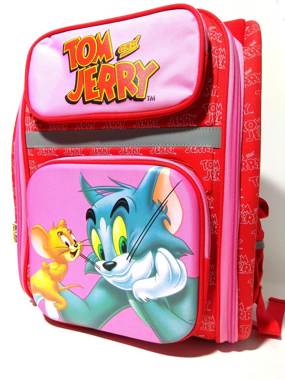 """Ранець шкільний каркасний 14,5"""", """"Tom and Jerry"""" 610 02807"""