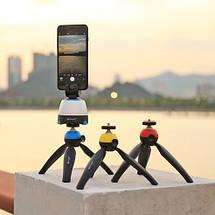 Поворотный штатив платформа (Time Lapse ) PULUZ  для панорамной съемки на мобильный телефона,камеру, фото 3