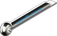 DIN 94, шплинт стальной