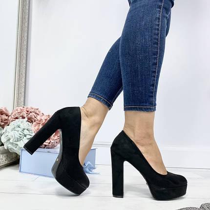 Шикарные туфли на каблуке, фото 2