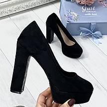 Шикарные туфли на каблуке, фото 3