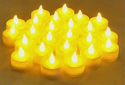Декоративная свеча Flameless LED Tealight Candles Tea Light Candle 24pcs Battery-powered LCL24 Flameless LED