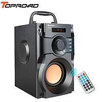 Музыкальный центр TOPROAD RS-A100 с пультом. Bluetooth колонка. Поддержка USB, microSD, FM-радио
