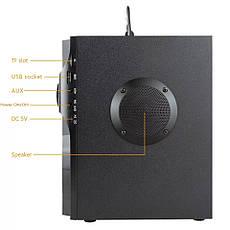 Музыкальный центр TOPROAD RS-A100 с пультом. Bluetooth колонка. Поддержка USB, microSD, FM-радио, фото 3