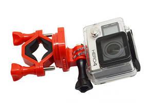 Крепление Gopro на велосипед на 360 градусов,  подходит для всех экшн камер , фото 3