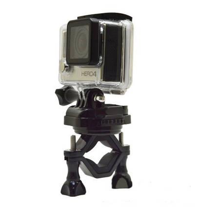 Кріплення для Gopro з платформою на велосипед на 360 градусів, підходить для всіх екшн камер, фото 2